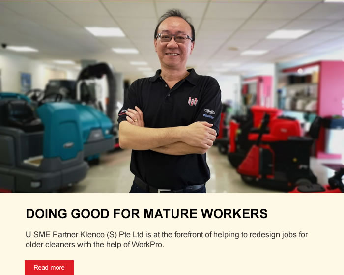 DOING GOOD FOR MATURE WORKERS